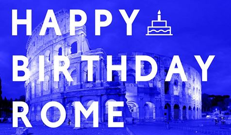 anniversaire naissance rome