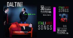 SUR UN AIR D'ITALIE: Dimanche 30 octobre 18h30 / Salle du Sénéchal