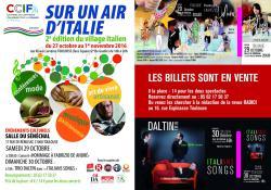 Village Italien à Toulouse du 27 ottobre au 1° novembre 2016