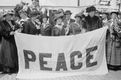 Il femminismo pacifista e la Prima guerra mondiale