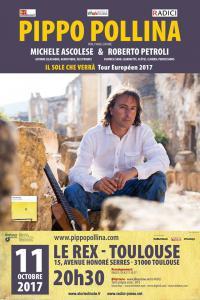 Pippo Pollina en concert à Toulouse le 11 octobre 2017 !