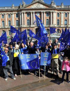 Au Capitole pour défendre l'Europe