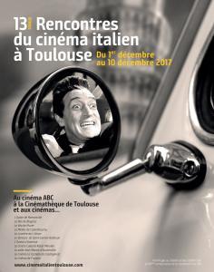 A vos AGENDA! affiche de la 13ème édition du Festival du film italien Toulouse !