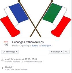 Échanges franco-italien à Toulouse