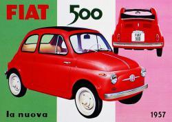DÉFILÉ FIAT 500 / 1957-2017: 60 anni!