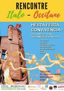 Rencontre Italo Occitanne Hesta festa Convivencia !