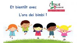 NOUVEAU! Ouverture d' un cours d'apprentissage de l'italien pour les enfants de 7 à 11 ans!
