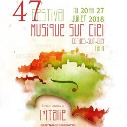 Festival Musique Sur Ciel 2018: L'Italie à l'honneur !
