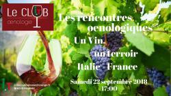 Les rencontres Œnologiques de l'Italie à Toulouse