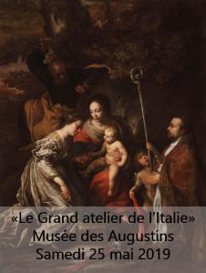 """""""Le grand atelier de l'Italie"""", le Vendredi 25 Mai"""