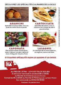 """NOUVEAU A TOULOUSE : goûtez les VRAIS """"Arancini """" et d'autres spécialités de Sicile au Food Truck Sicilien! Parola di Siciliana! :)"""