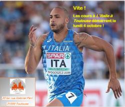 Debut des cours d'Italien: semaine du 4 Octobre